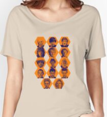 Doctor Who   The Fourteen Doctors Women's Relaxed Fit T-Shirt