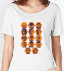 Doctor Who | The Fourteen Doctors Women's Relaxed Fit T-Shirt