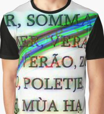 Summer Graphic T-Shirt