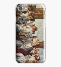 May Morning on Magdalen College  Oxford Ancient Annual Ceremony 1888 - 1893 William Holman Hunt iPhone Case/Skin