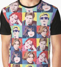 THE BREAKFAST CLUB POP ART Graphic T-Shirt