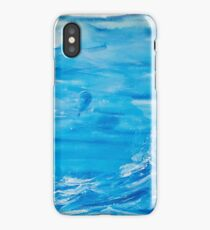 A baloon in storm  iPhone Case/Skin