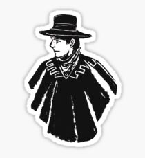 Wild West Marty Sticker