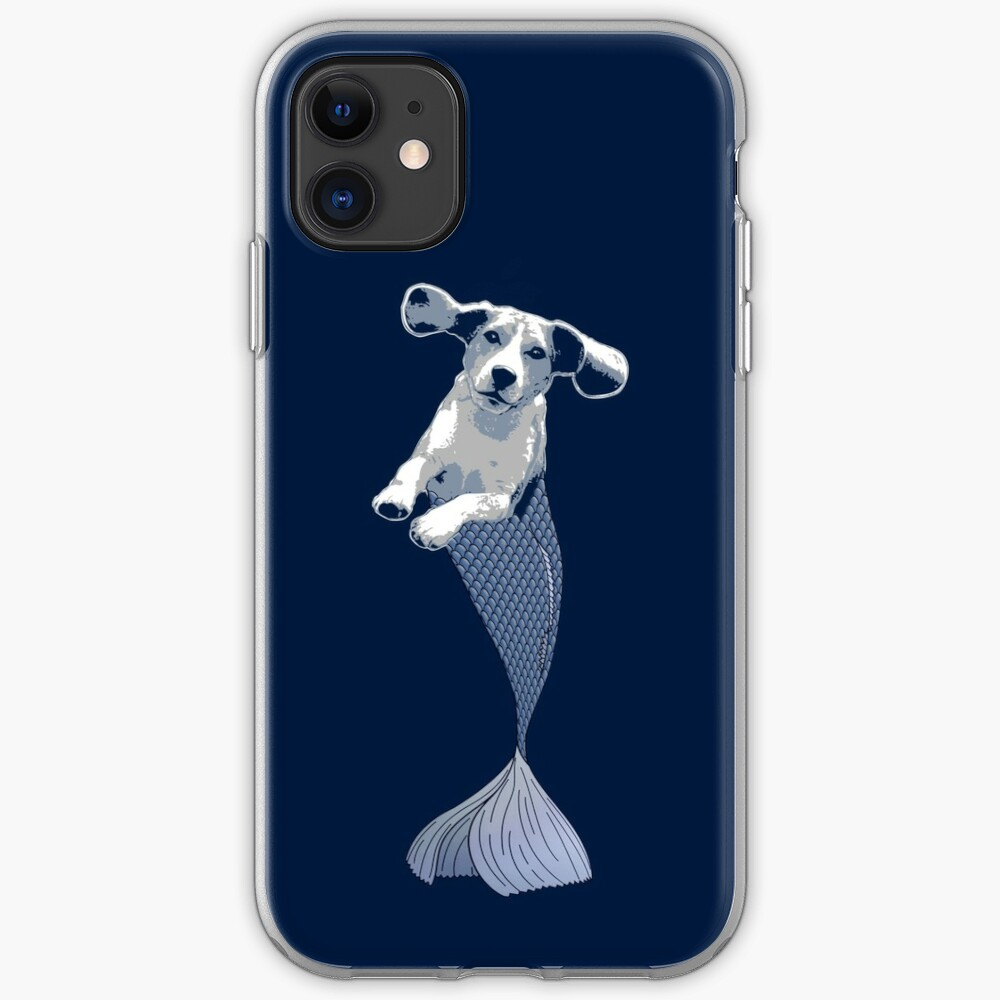 Bailey the Beagle Merpup iPhone Case & Cover