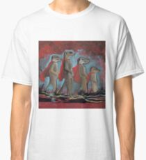 Super Hero Meerkats Assemble! Classic T-Shirt