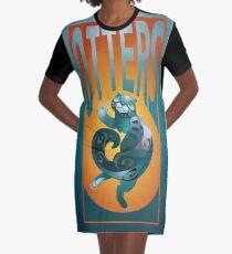 BEARS TOTEM- the otter Graphic T-Shirt Dress