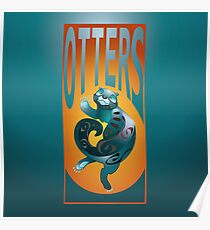 BEARS TOTEM- the otter Poster