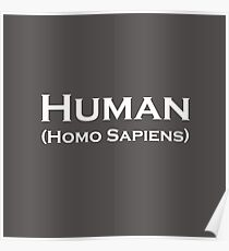 Human (Homo Sapiens) Poster