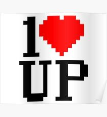 1<3 Up Poster