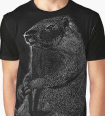 Marmet Scraperboard - Black Graphic T-Shirt