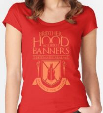 Brotherhood Without Banners Women's Fitted Scoop T-Shirt