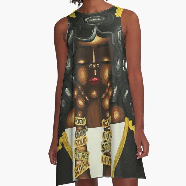 QUEENISMS A-Line Dress