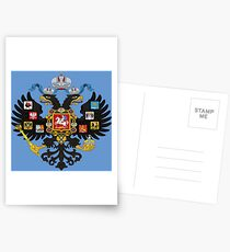 Coat of Arms of Russian Empire Postcards