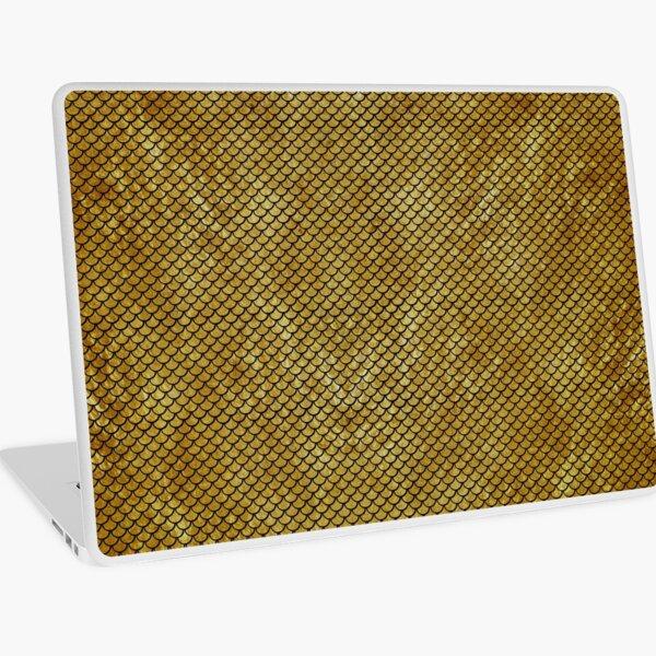 Mermaid Gold Laptop Skin