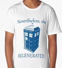 Nevertheless, She Regenerated DW13 Long T-Shirt