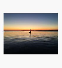 cape cod sunset 2 Photographic Print