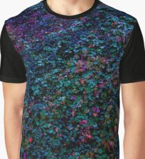 West Coast Gardens: Cotoneaster in Cold Colours Graphic T-Shirt