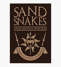 Sand Snakes Photographic Print