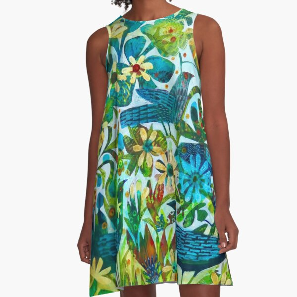 Summer light, an Este MacLeod design A-Line Dress