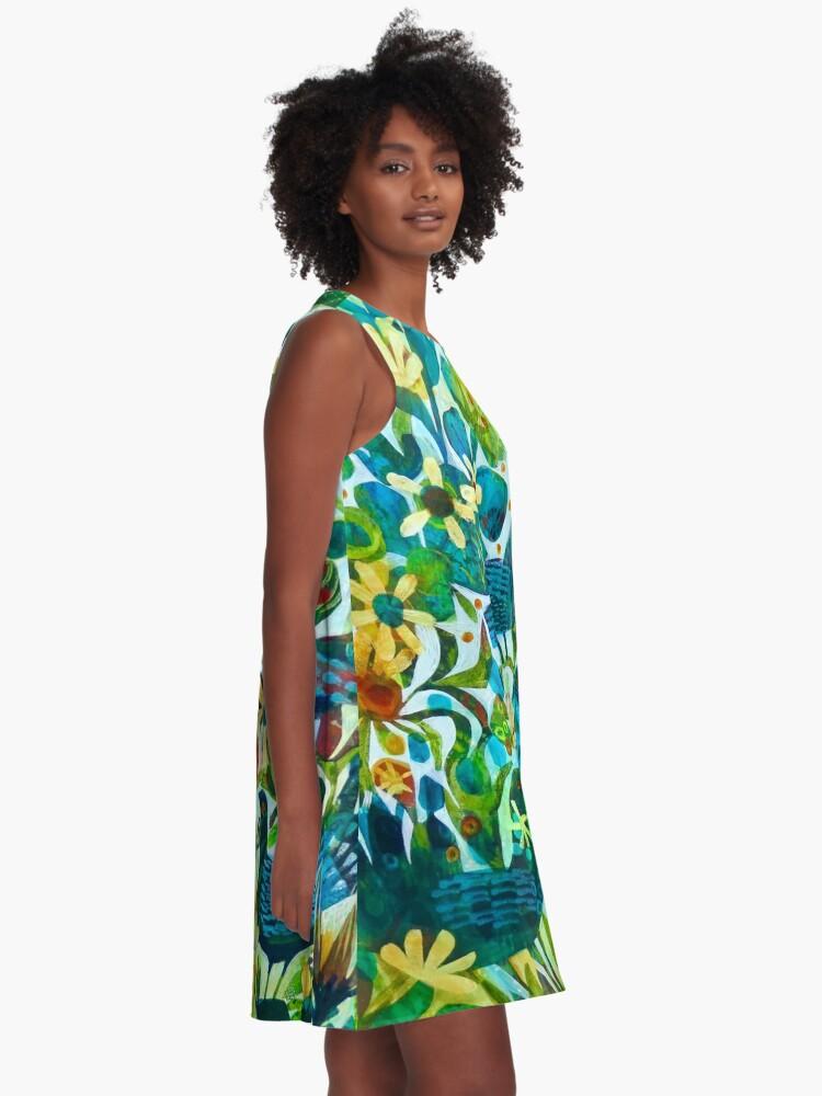 Alternate view of Summer light, an Este MacLeod design A-Line Dress