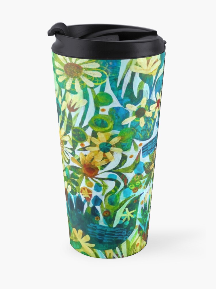 Alternate view of Summer light, an Este MacLeod design Travel Mug