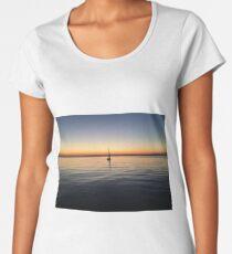 cape cod sunset 2 Women's Premium T-Shirt