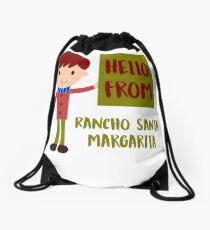 Hello From Rancho Santa Margarita Boy Drawstring Bag