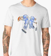 American Football Cartoon Style 32/41 Men's Premium T-Shirt