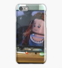 LEGO woman art picture iPhone Case/Skin