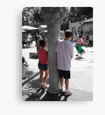 Visions through a childs eyes Canvas Print