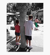 Visions through a childs eyes Photographic Print