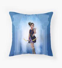 Greek Goddess - Artemis Throw Pillow