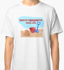 Rancho Santa Margarita Beach Club Tees and Stickers Classic T-Shirt