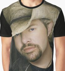 Toby Keith - Celebrity (Oil Paint Art) Graphic T-Shirt