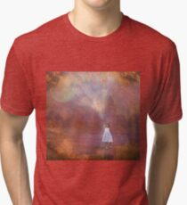 Off To Fairyland (By Way Of Fairyloons) Tri-blend T-Shirt