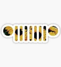 Sonnenblume Wrangler Grill Sticker