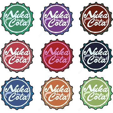 Nuka Cola Caps Rainbow by art-by-let