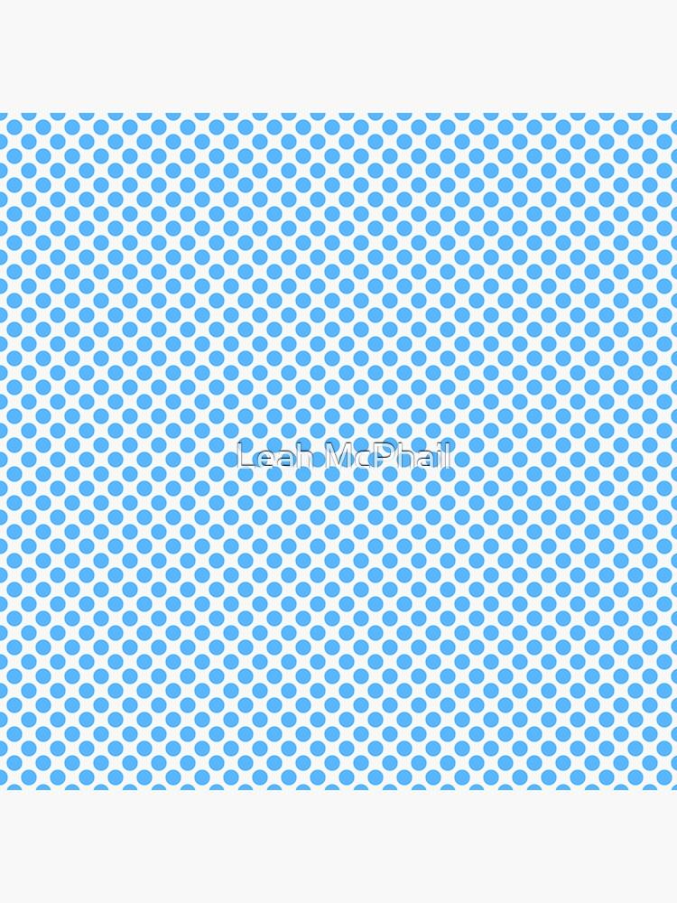 Blue Polka Dots by LeahMcPhail