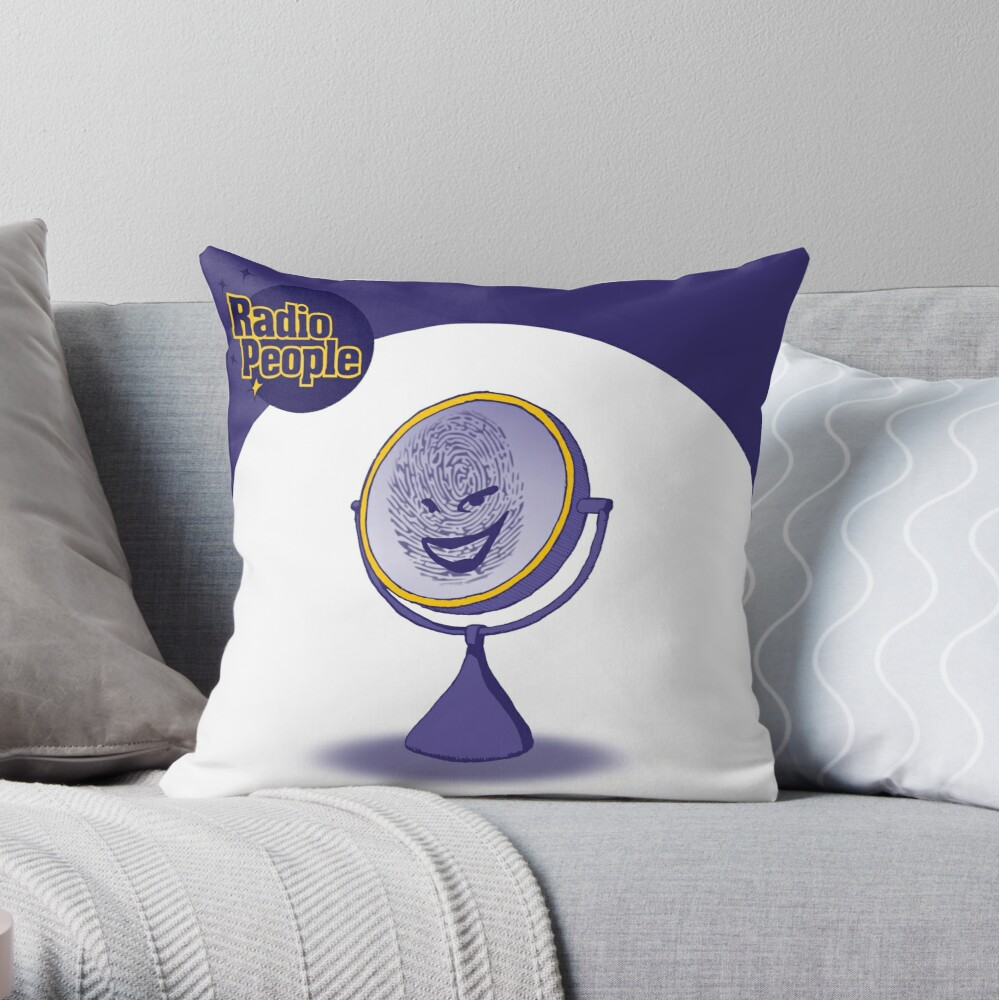 Ep. 203- Draw a Face on Me Throw Pillow