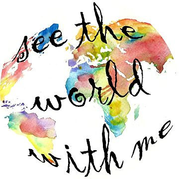 See the World With Me by OddFiction