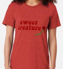 Sweet Creature Rose Design Tri-blend T-Shirt