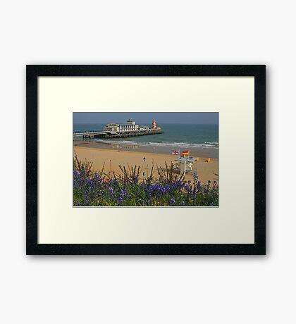 Bournemouth 'Bells Framed Print