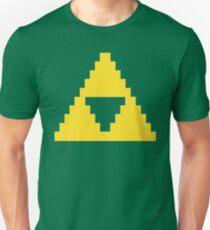 Zelda Triforce Gold 8-bit T-Shirt