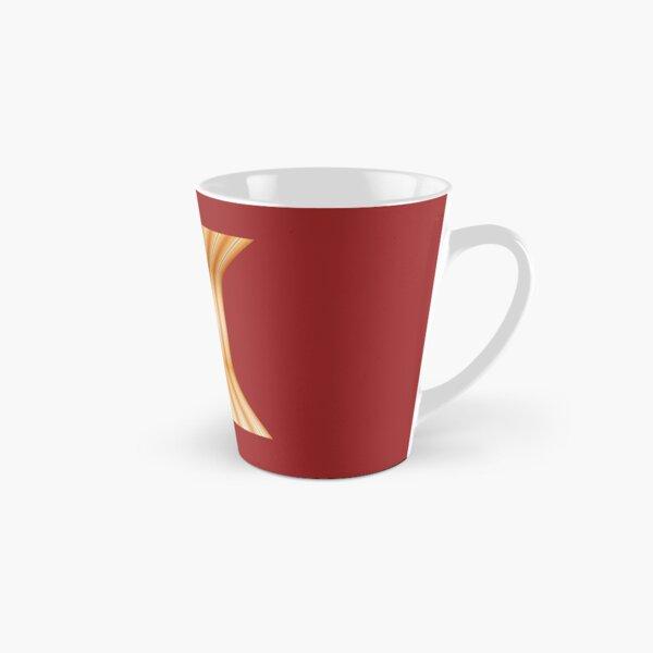 Gestreifte Leinwand rund doppelt Tasse (konisch)