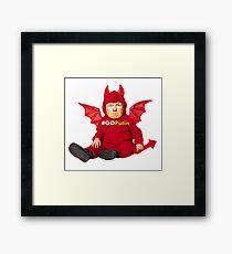 GOPutin Mascot Framed Print