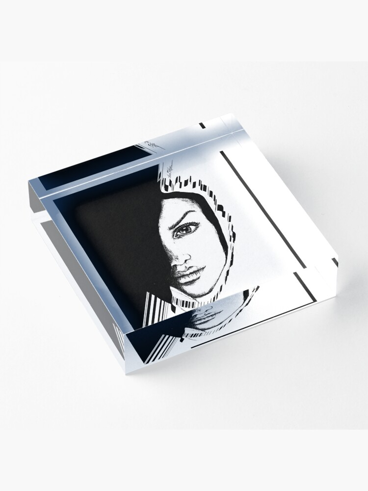 Alternate view of Look at me Acrylic Block