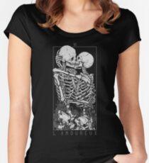 Die Liebhaber Tailliertes Rundhals-Shirt