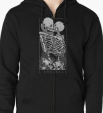 The Lovers Zipped Hoodie