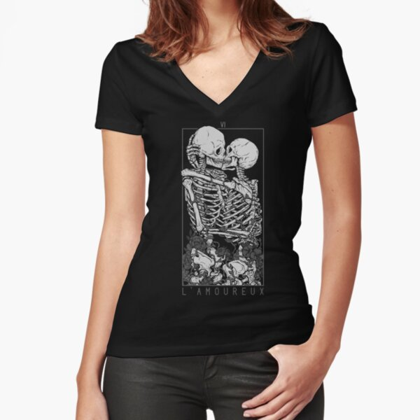 The Lovers Fitted V-Neck T-Shirt