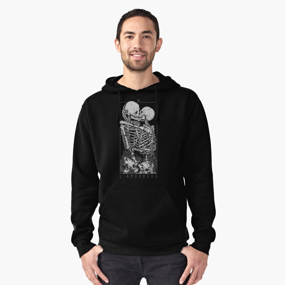 The Lovers Pullover Hoodie Front